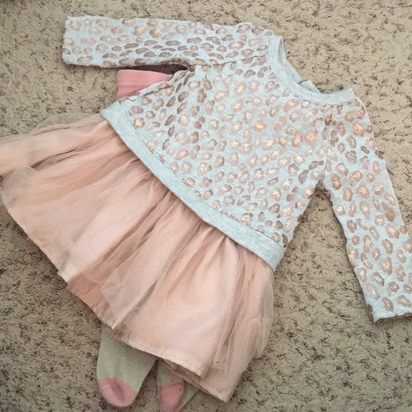 Cynthia Rowley Dresses Baby Girl Dress With Tights By Poshmark